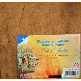 Mulberry boombastvezels voor oa. Mixed Media-bruin