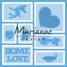 Marianne design Marianne D Creatable Layout 13,2x13,2 cm