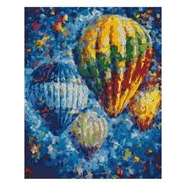 Painting By Numbers Air Baloons