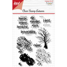 Joy Crafts Clearstamp - Noor - Autumn Tree