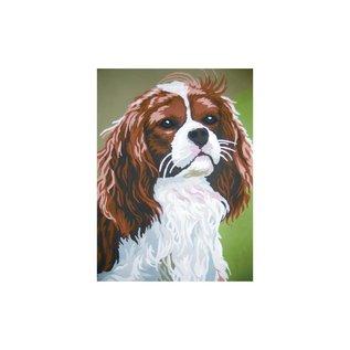 Collection d'art Bedrukt stramien 40x50cm Hond