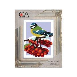 "Collection d'art Kruissteekpakket ""Vogel"" 20x25cm"
