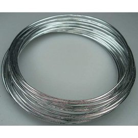 Aluminiumdraad 2mm x 5m Zilver