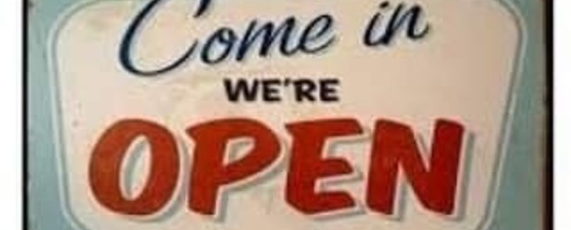 Onze winkel is open!!!