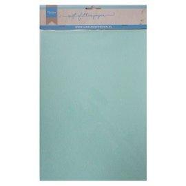 Marianne design Marianne Design Decoratie Soft Glitter papier 5 vel Mint