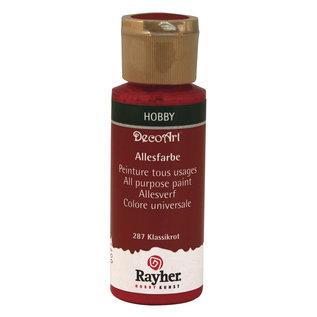 Rayher Allesverf Acryl Klassiek Rood 59 ml