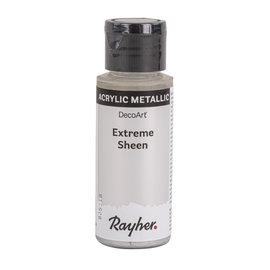 Rayher Extreme Sheen Acrylic Metallic zilver 59ml