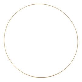 Rayher Metalen dromenvanger ring bedekt 60cm Goudkleurig