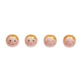 """Rayher Houten  bal """"hoofd engel"""" 23mm"""