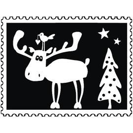 Rayher Stempel Kerstpost: Eland