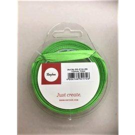 Rayher Satijnlint groen 10mm 10m