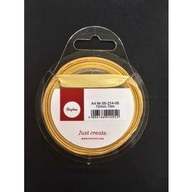 Rayher Satijnlint, goud, 10mm, 10m