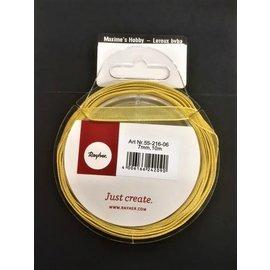Rayher Organzalint goud 7mm 10m