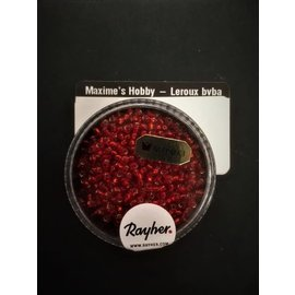 Rayher Premium-rocailles 2,2mm vuurrood  8g.