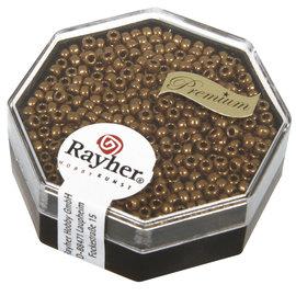 Rayher Premium-rocailles 2,2mm Metallic 4g