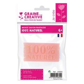 Gietvorm zeep - 100% naturel