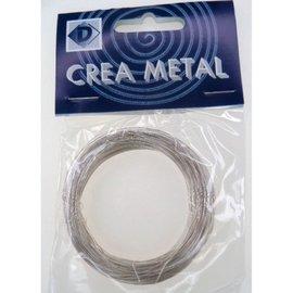 Metaaldraad zilver 0.30mm 25m
