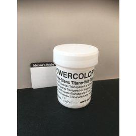 Powertex Powercolor 40ml. Titanium wit - 0024