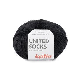 Katia United socks 10 Zwart bad 34389