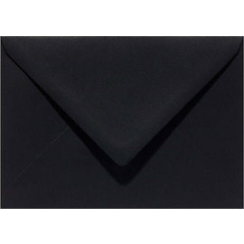 enveloppen C6 Recycled Zwart, 114x162mm, 6 st.