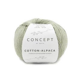 Katia Cotton-Alpaca 103 Bleekgroen 37233
