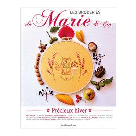 DMC Boek Les Broderies de Marie & Cie Precieux Hiver