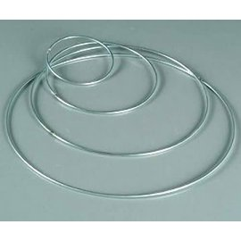 Metalen dromenvanger ring 4mm - 35cm