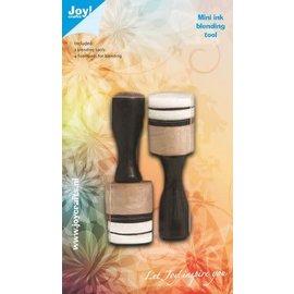 Joy! Crafts Mini Inkt Blending Tool 2st + 4 foampads 20mm