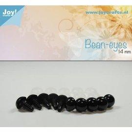 Joy Crafts Joy! Crafts Kristal ogen 10st Bruin 8mm
