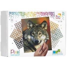 PixelHobby Pixel kit Wolf | 9 basisplaten