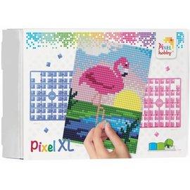 Pixel XL - Flamingo - 4 basisplaten
