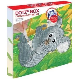 BOX Diamond Dotting kit - 22x22cm - Koala climb