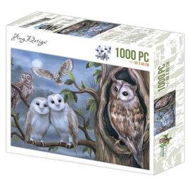 Puzzel 1000 pc - Amy Design - Uilen +/- 68x49cm