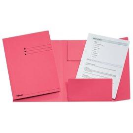 Esselte: Dossiermap A4 met 3 kleppen, 275 g/m² - Roze