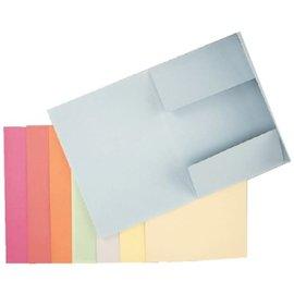 Esselte: Dossiermap A4 met 3 kleppen, 275 g/m² - Blauw