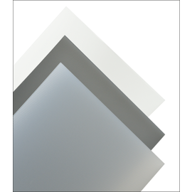 Glashalder Mat PVC 0.28mm 194x320mm