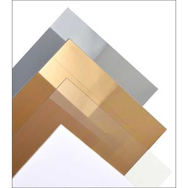 Glashelder PVC 0.15mm, 194x320mm