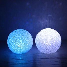 LED lichtbal 8cm multicolor