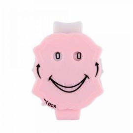 KnitPro Clicky toerenteller licht roze