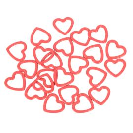 KnitPro stitch markers hartjes