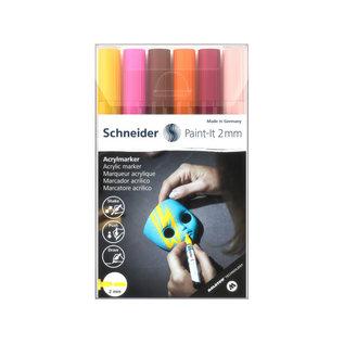 Schneider Acryl Marker Schneider Paint-it 310 2mm etui 6st.