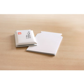 Envelop 176x250mm karton wit 5 stuks