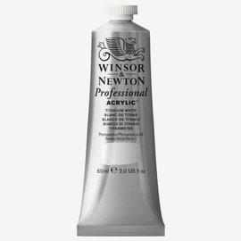 Winsor&Newton Winsor&Newton, Professional Acrilic serie 1, Titanium White, 60ml