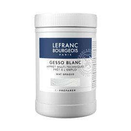 Lefranc Bourgeois Lefranc Bourgeois, Acrylverf Gesso Wit, Pot 1L