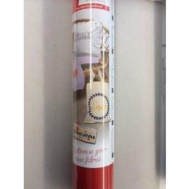 Flex thermo-adhésif - Flexfolie 30,5x122cm mat rood
