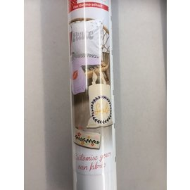 Flex thermo-adhésif 30,5x122cm Mat White