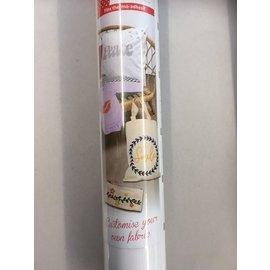Flex thermo-adhésif - Flexfolie 30,5x122cm Mat wit