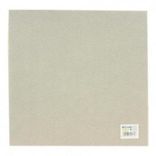Vilt grijs 30,5x30,5cm  PER VEL