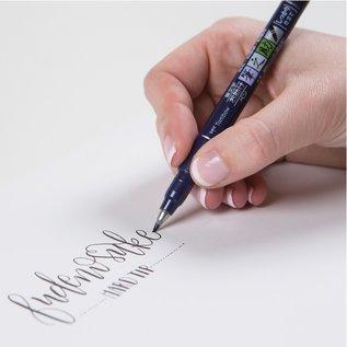 Tombow 10 Fudenosuke Brush Pens
