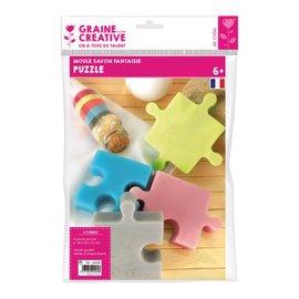 Graine Creative Gietvorm  zeep puzzel